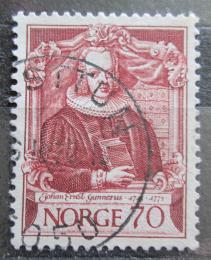 Poštovní známka Norsko 1970 Johan Ernst Gunnerus, zoolog Mi# 615