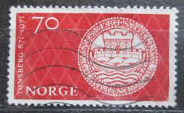 Poštovní známka Norsko 1971 Tonsberg, 1100. výroèí Mi# 619