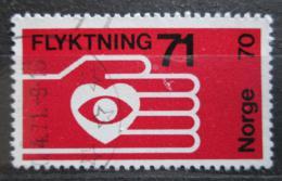 Poštovní známka Norsko 1971 Pomoc uprchlíkùm Mi# 624