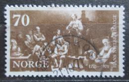Poštovní známka Norsko 1971 Umìní, Adolph Tidemand Mi# 626