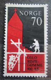 Poštovní známka Norsko 1971 Biskupství v Oslu, 900. výroèí Mi# 627