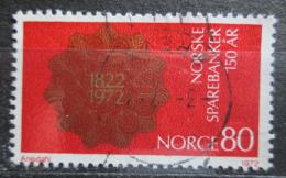Poštovní známka Norsko 1972 Spoøitelna, 150. výroèí Mi# 635