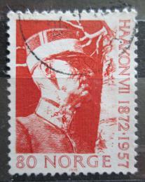 Poštovní známka Norsko 1972 Král Haakon VII. Mi# 643