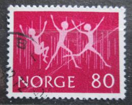 Poštovní známka Norsko 1972 Výstava INTERJUNEX Mi# 645