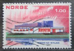 Poštovní známka Norsko 1973 Severská architektura, NORDEN Mi# 662