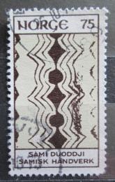Poštovní známka Norsko 1973 Umìní z Laponska Mi# 668