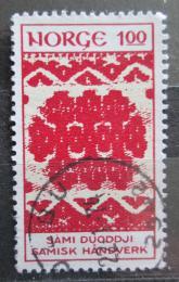 Poštovní známka Norsko 1973 Umìní z Laponska Mi# 669