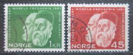 Poštovní známky Norsko 1961 Henri Dunant Mi# 464-65