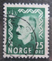 Poštovní známka Norsko 1956 Král Haakon VII. Mi# 396