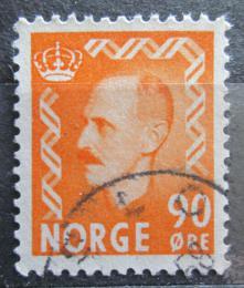 Poštovní známka Norsko 1955 Král Haakon VII. Mi# 401
