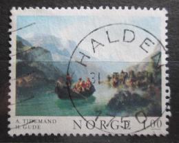Poštovní známka Norsko 1974 Umìní Mi# 681