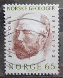 Poštovní známka Norsko 1974 Johan Herman Li Vogt, geolog Mi# 687