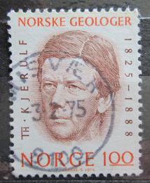 Poštovní známka Norsko 1974 Theodor Kjerulf, geolog Mi# 689