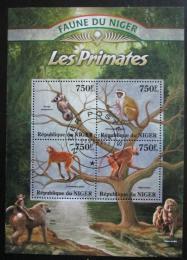 Poštovní známky Niger 2013 Primáti Mi# 2125-28 Kat 12€