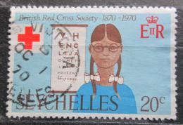 Poštovní známka Seychely 1970 Britský èervený køíž, 100. výroèí Mi# 278