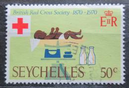 Poštovní známka Seychely 1970 Britský èervený køíž, 100. výroèí Mi# 279