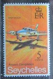Poštovní známka Seychely 1971 Letadlo Mi# 287