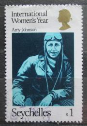 Poštovní známka Seychely 1975 Amy Johnson Mi# 341