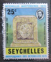Poštovní známka Seychely 1976 Pamìtní kámen Mi# 349