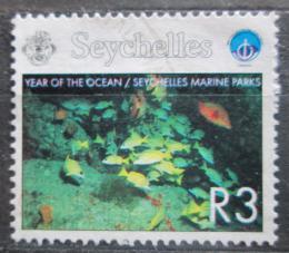 Poštovní známka Seychely 1998 Ryby Mi# 832
