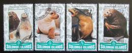 Poštovní známky Šalamounovy ostrovy 2016 Lachtani Mi# N/N
