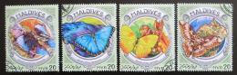 Poštovní známky Maledivy 2016 Motýli Mi# 6414-17