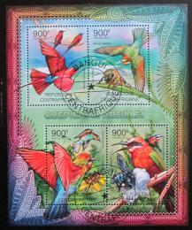 Poštovní známky SAR 2012 Vèely a ptáci Mi# 3662-65 Kat 16€