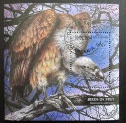 Poštovní známka Tanzánie 1994 Pseudogyps africanus Mi# Block 260