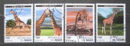 Poštovní známky Niger 2015 Žirafy Mi# 3823-26 Kat 12€