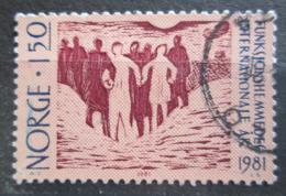 Poštovní známka Norsko 1981 Mezinárodní rok invalidù Mi# 845