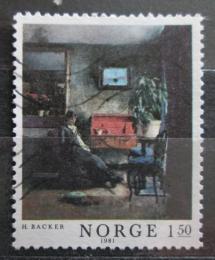 Poštovní známka Norsko 1981 Umìní, Harriet Backer Mi# 847
