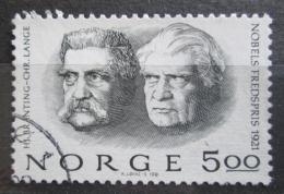 Poštovní známka Norsko 1981 Nositelé Nobelovy ceny za mír Mi# 849