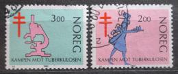 Poštovní známky Norsko 1982 Boj s tuberkulózou Mi# 862-63