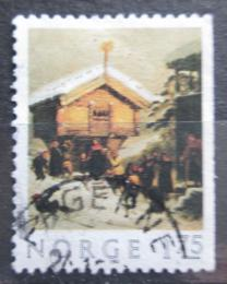 Poštovní známka Norsko 1982 Vánoce, umìní Mi# 875 Dr