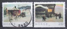 Poštovní známky Norsko 1983 Vánoce, umìní Mi# 894-95 Du