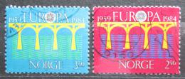 Poštovní známky Norsko 1984 Evropa CEPT Mi# 904-05