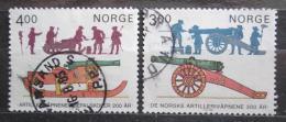 Poštovní známky Norsko 1985 Norské dìlostøelectvo, 300. výroèí Mi# 921-22