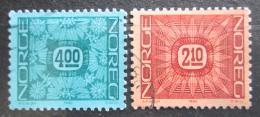 Poštovní známky Norsko 1986 Nominál Mi# 942-43