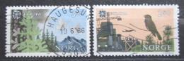 Poštovní známky Norsko 1986 Evropa CEPT Mi# 946-47
