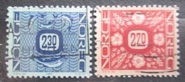 Poštovní známky Norsko 1987 Nominál Mi# 963-64