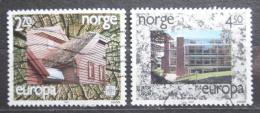 Poštovní známky Norsko 1987 Evropa CEPT, moderní architektura Mi# 965-66