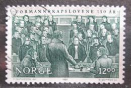 Poštovní známka Norsko 1987 Hlasování v Odelsting Mi# 967