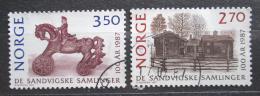 Poštovní známky Norsko 1987 Muzeum Maihaugen, 100. výroèí Mi# 971-72