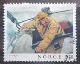Poštovní známka Norsko 1987 Umìní, Christian Krogh Mi# 979