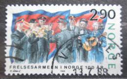 Poštovní známka Norsko 1988 Armáda spásy, 100. výroèí Mi# 988