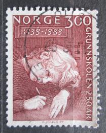 Poštovní známka Norsko 1989 Základní vzdìlání, 250. výroèí Mi# 1022