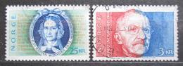 Poštovní známky Norsko 1989 Spisovatelé Mi# 1031-32