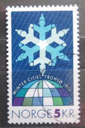 Poštovní známka Norsko 1990 Konference mìst Mi# 1037