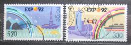 Poštovní známky Norsko 1992 Výstava EXPO Sevilla Mi# 1094-95