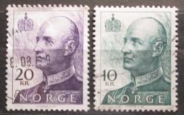 Poštovní známka Norsko 1993 Král Harald V. Mi# 1131-32